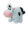 Plush cow black/white with scarf (209006270)